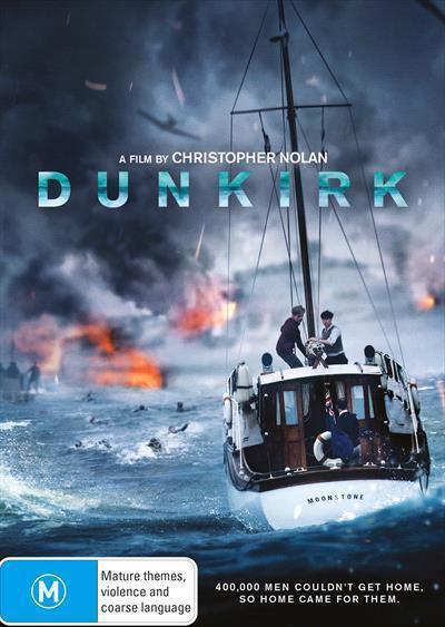 Dunkirk(2017)(DVD)