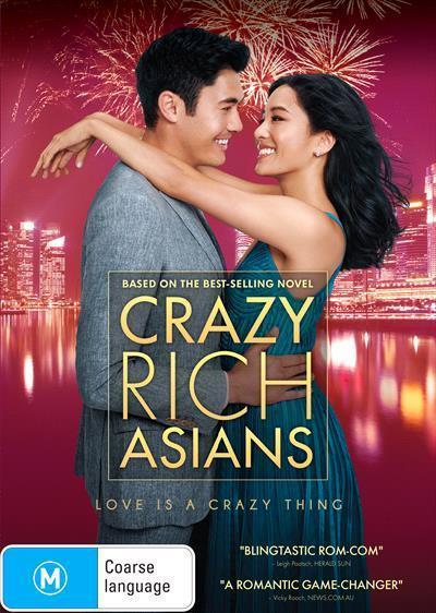 Crazy RichAsians(DVD)