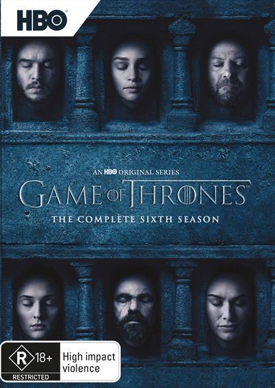 Game of Thrones: Season 6 (DVD)