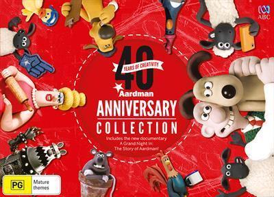 Aardman 40th AnniversaryCollection(DVD)