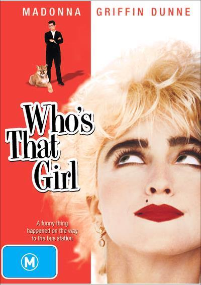 Whos That Girl Dvd