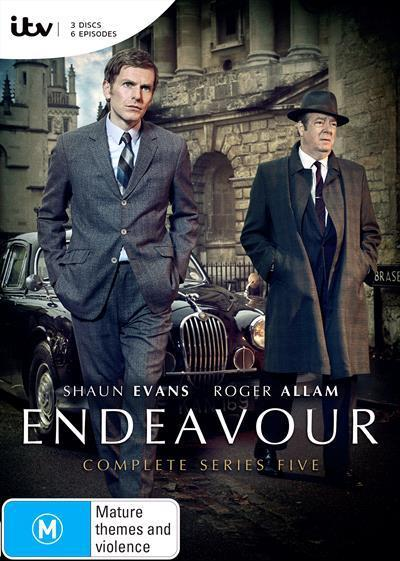 Endeavour : Series 5 (DVD)