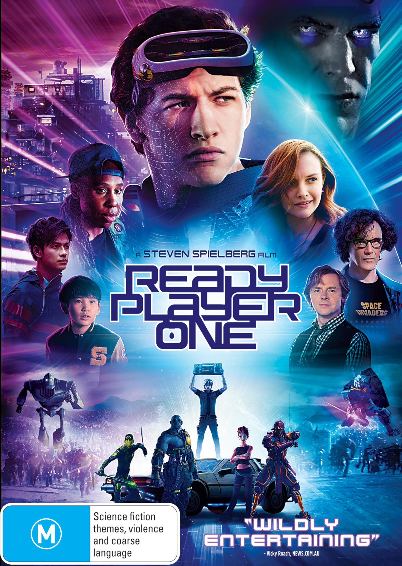 Image result for Ready player one dvd