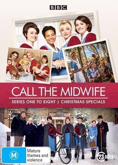Call the Midwife: Season 1-8 (Limited Edition DVD)
