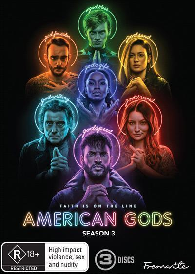 American Gods: Season3(DVD)