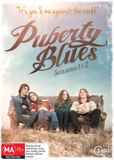 Puberty Blues Series 1 And 2 Boxset Dvd by Charlotte Best, Isabelle  Cornish, Rodger Corser, Ashleigh Cummings, Brenna Harding