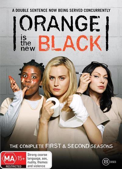2a32ed165684ee Orange Is The New Black  Season 1-2 Box-set (DVD) by · Readings.com.au