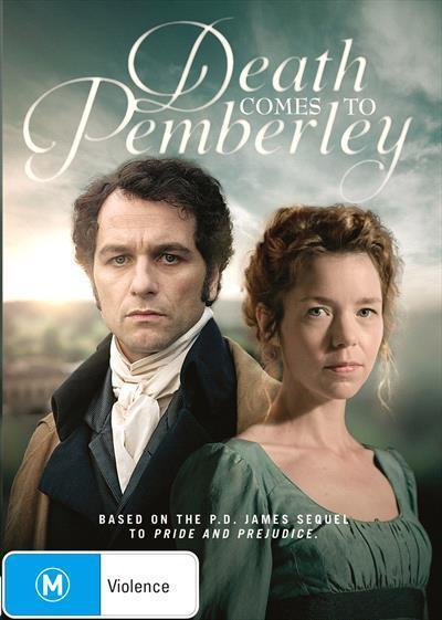 Death Comes To Pemberley (DVD) by Matthew Rhys, Anna Maxwell Martin,  Matthew Goode, Trevor Eve, Jenna Coleman
