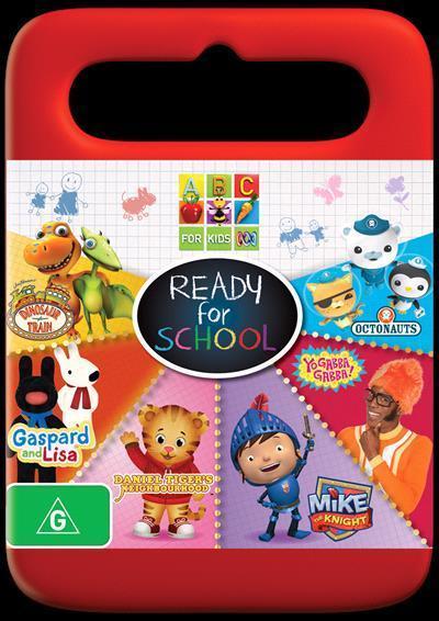 Abc For Kids Ready School Dvd