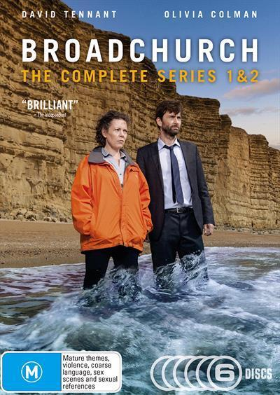Broadchurch Series 1 &2(DVD)