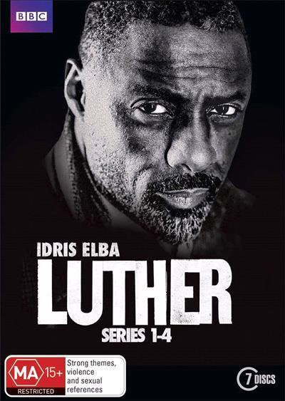 Luther: Series 1 - 4 (DVD)