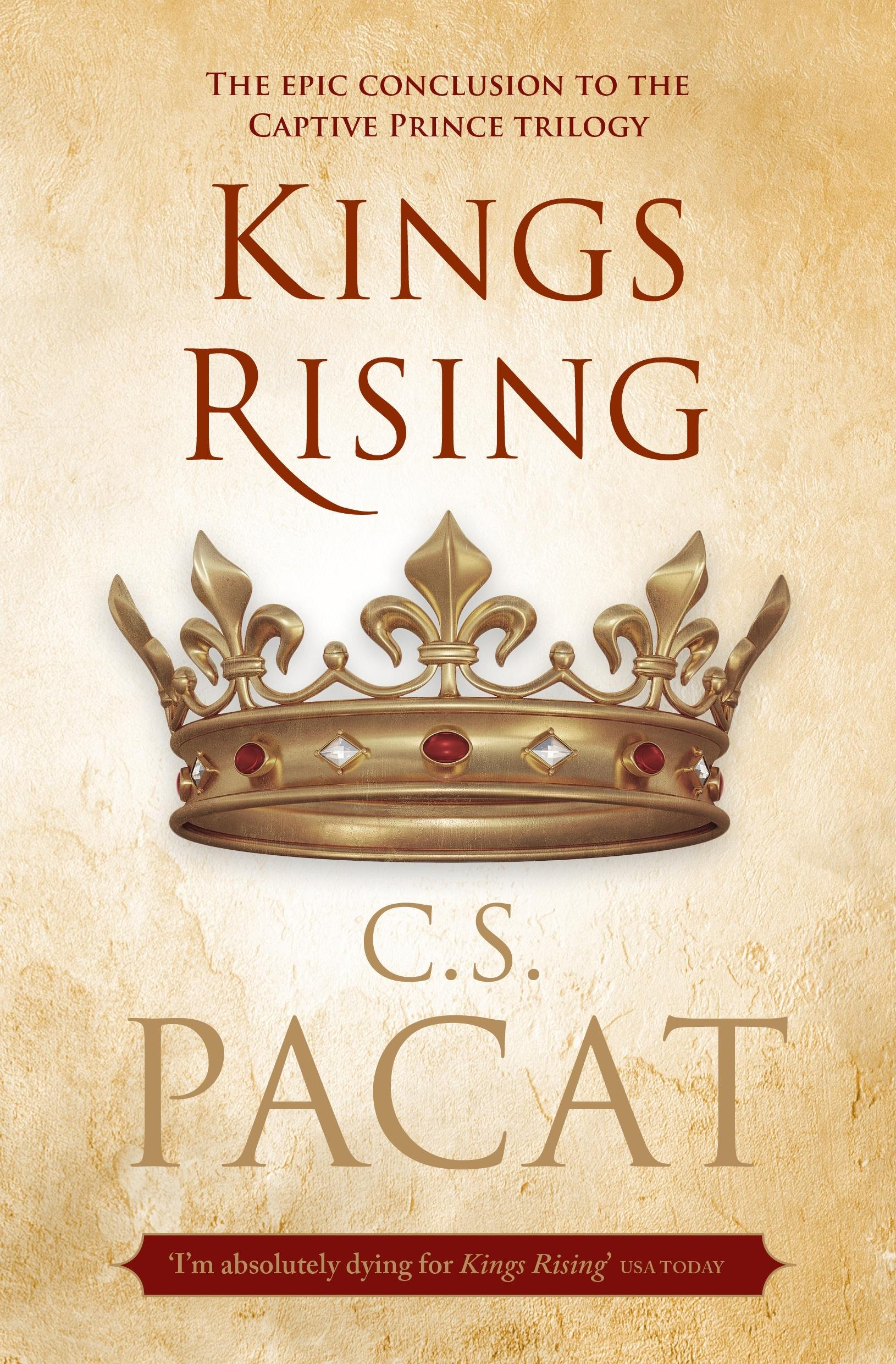 Kings Rising (Captive Prince Trilogy, Book 3)