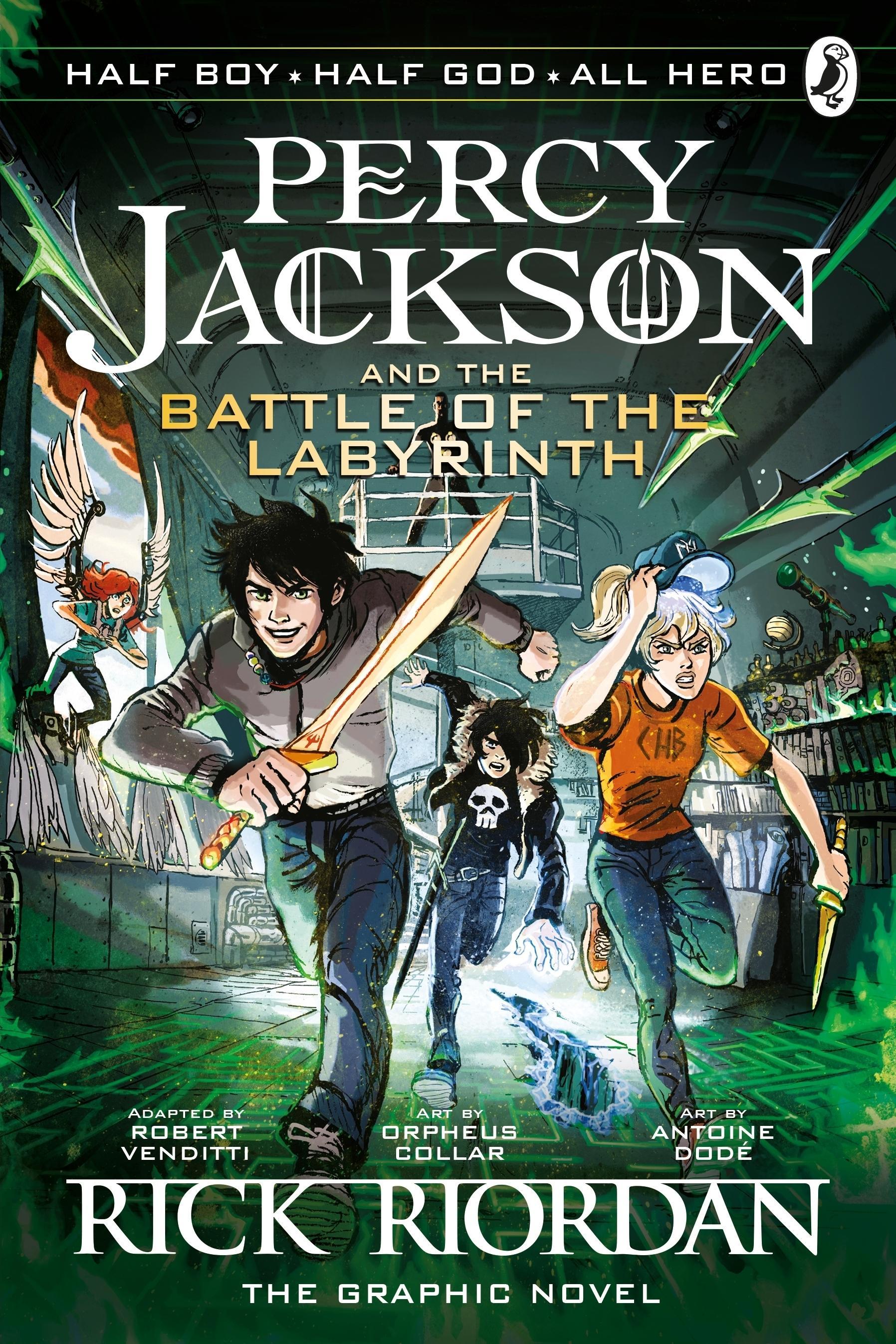 Percy Jackson and the Olympians: The Titan's Curse: The ... |Percy Jackson Graphic Novel Annabeth