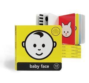 Baby Face Board Book