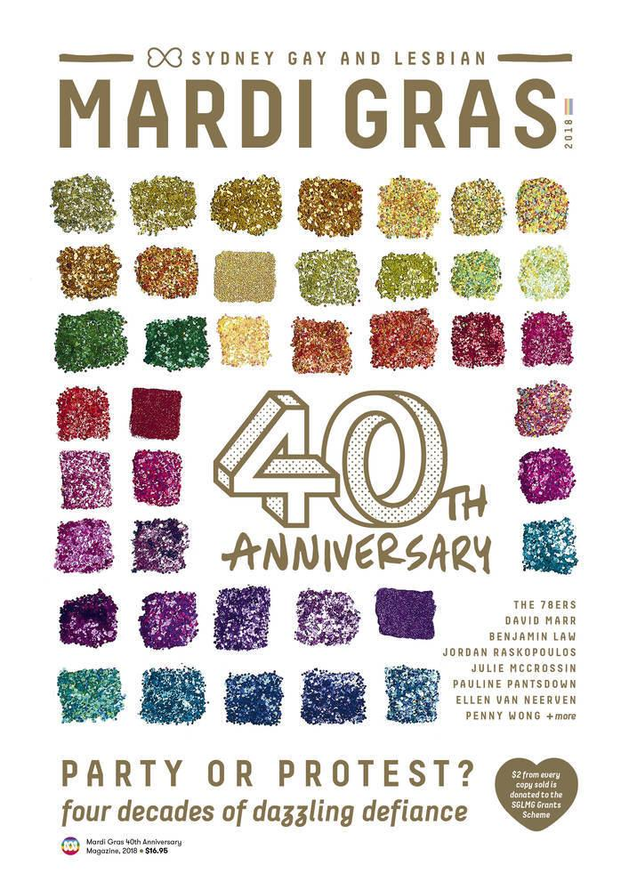 The Mardi Gras 40th Anniversary Magazine