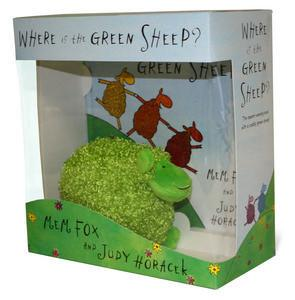 Where is the Green Sheep? (Book and plush toy)
