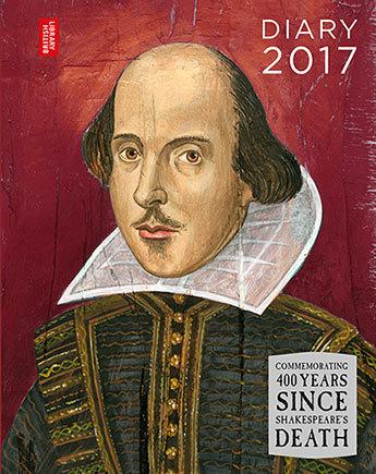 British Library Desk Diary 2017 Shakespeare