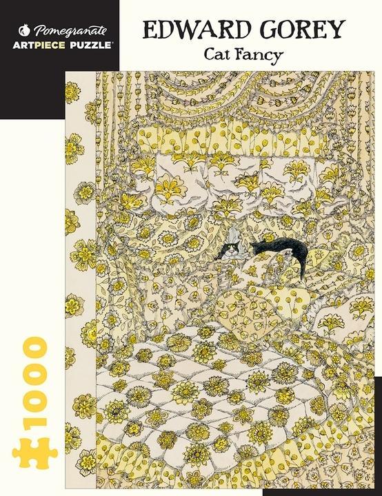Edward Gorey Cat Fancy Jigsaw Puzzle(1000pieces)