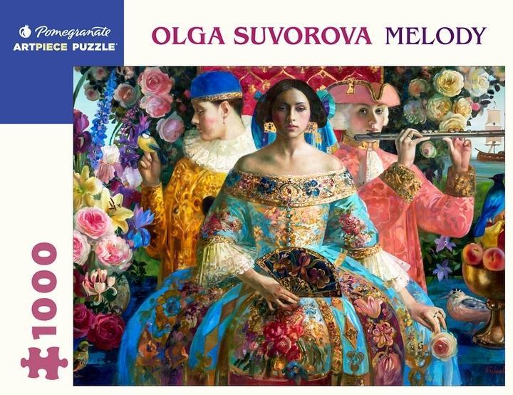 Olga Suvorova Melody 1000 PieceJigsawPuzzle