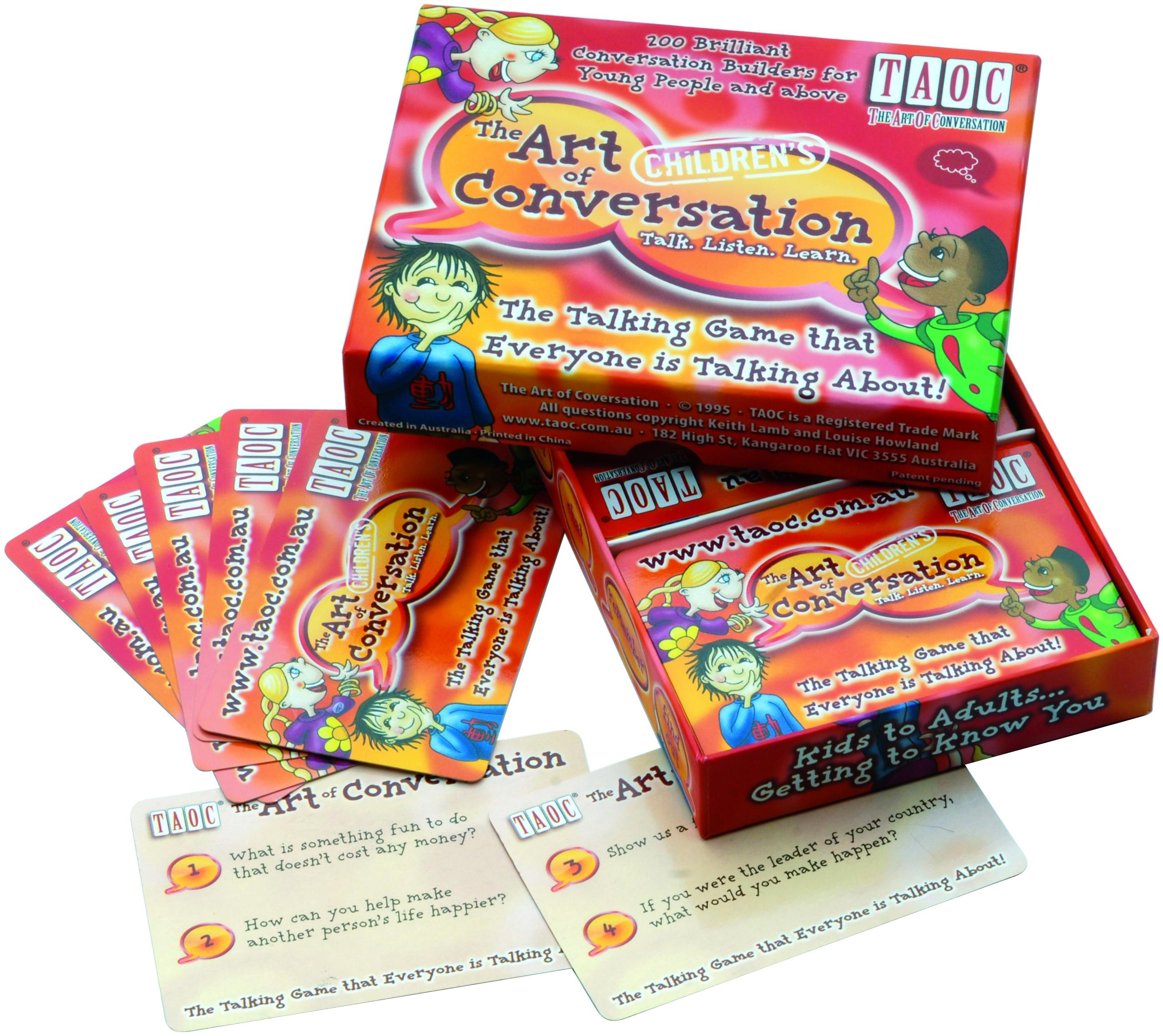The Art Of Conversation:Children'sEdition