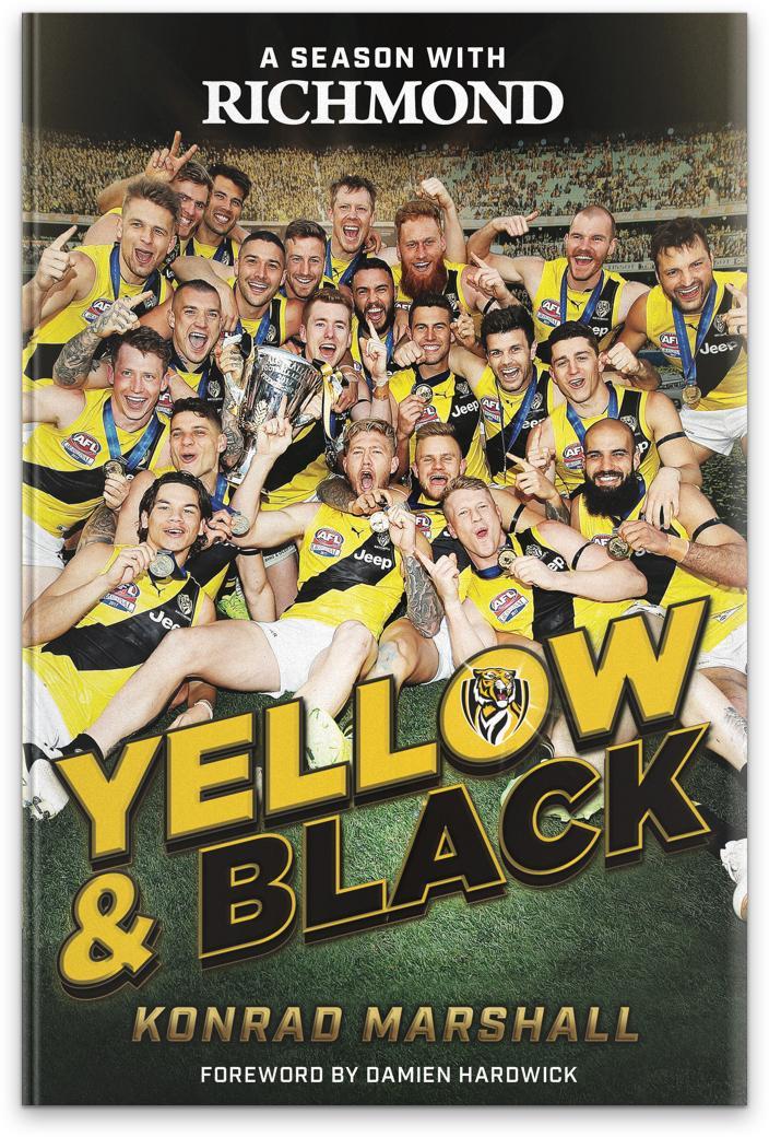 A Season with Richmond: Yellow&Black
