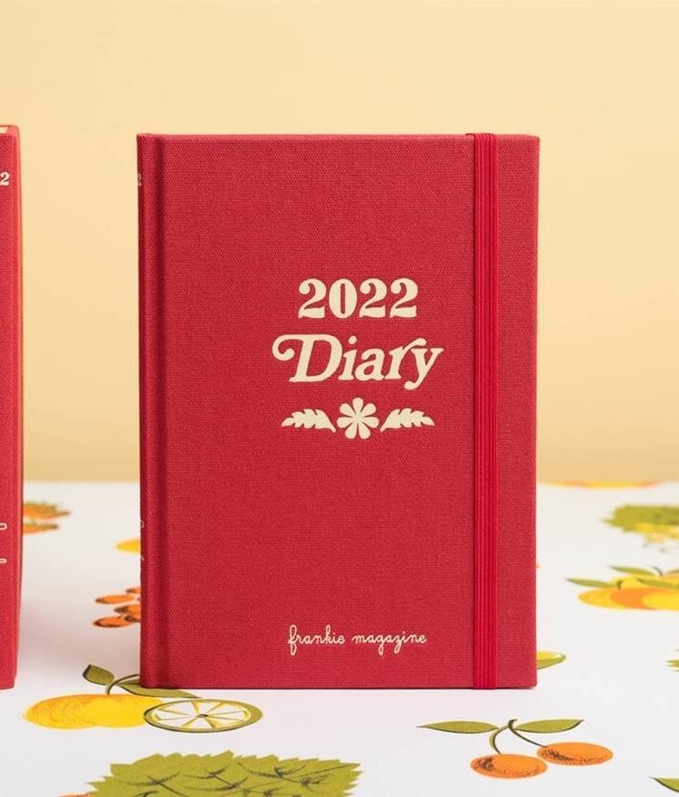 Frankie 2022 Diary Daily Journal
