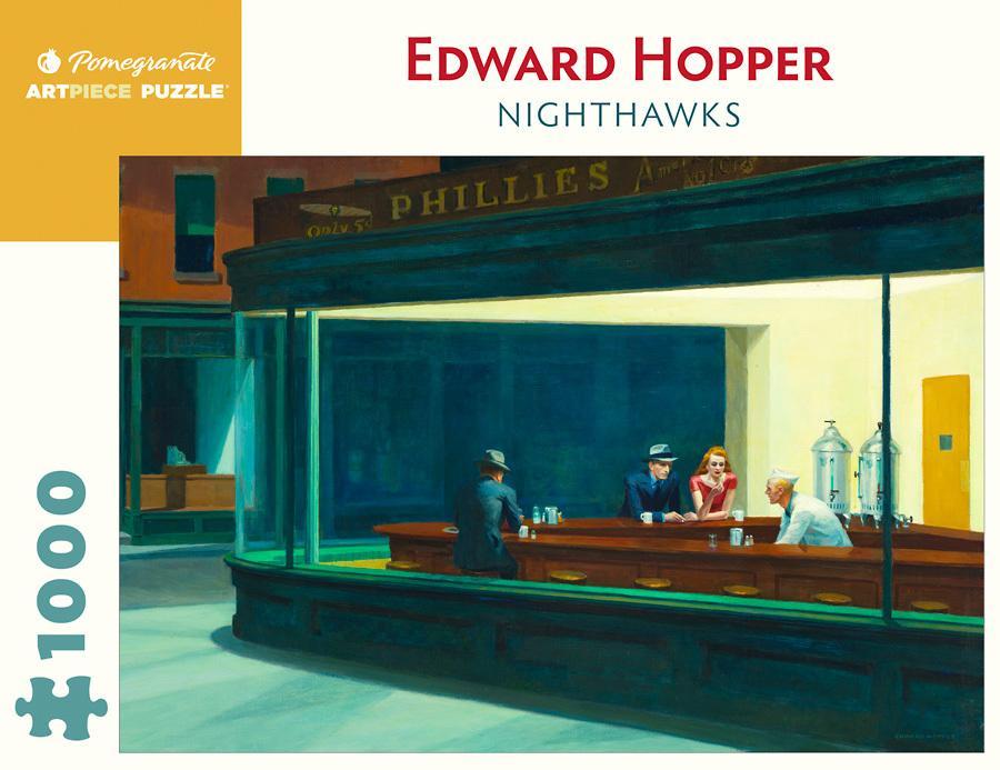 Nighthawks Jigsaw Puzzle(1000pieces)