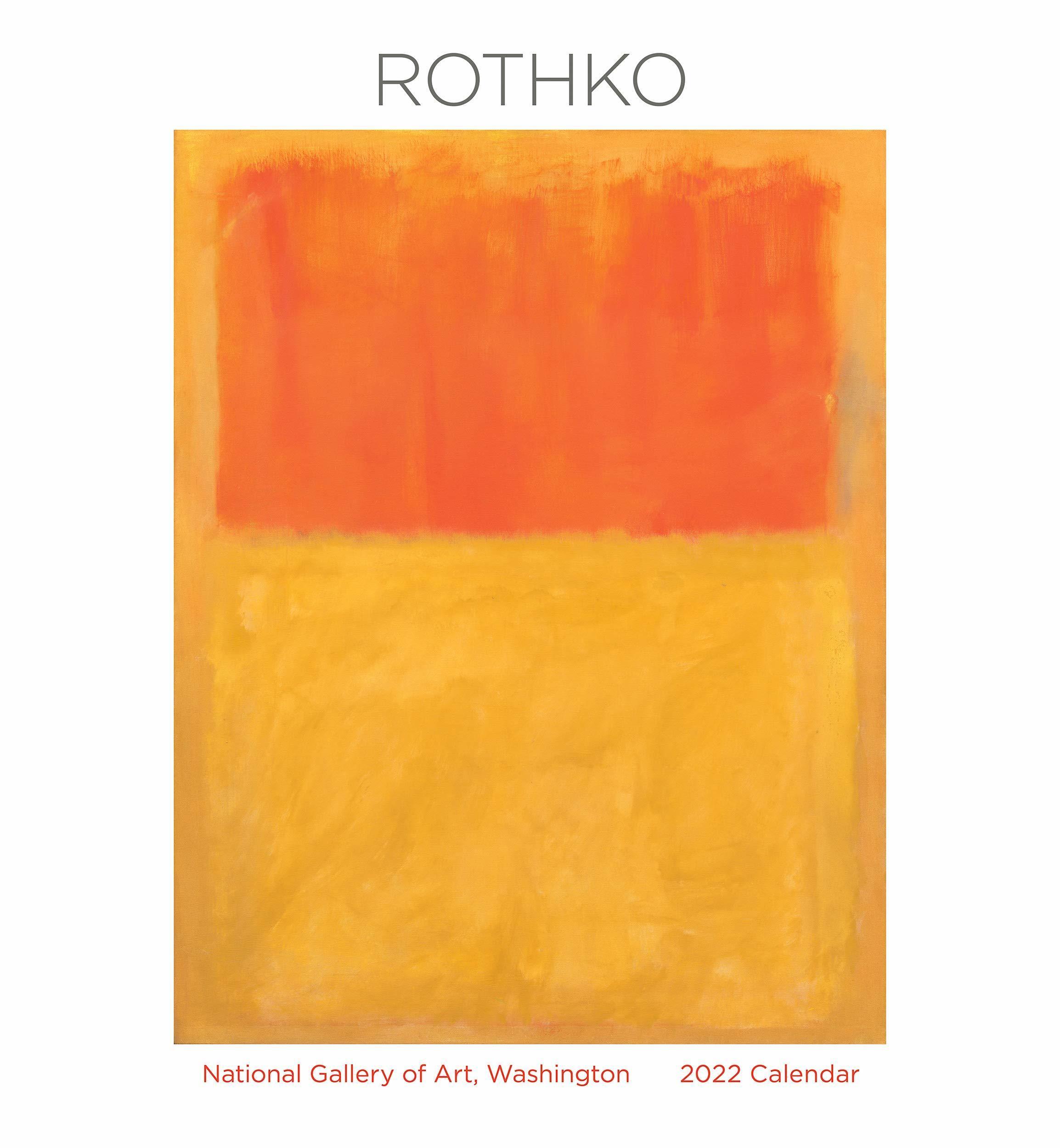 Rothko 2022 Calendar