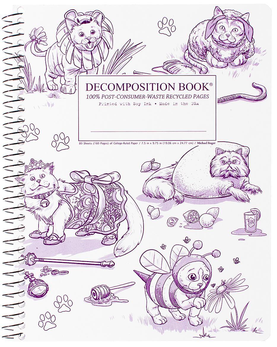 Decomposition NotebookCostumeCats