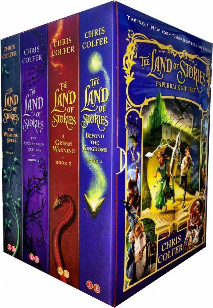 Land of Stories: 4-Book Set