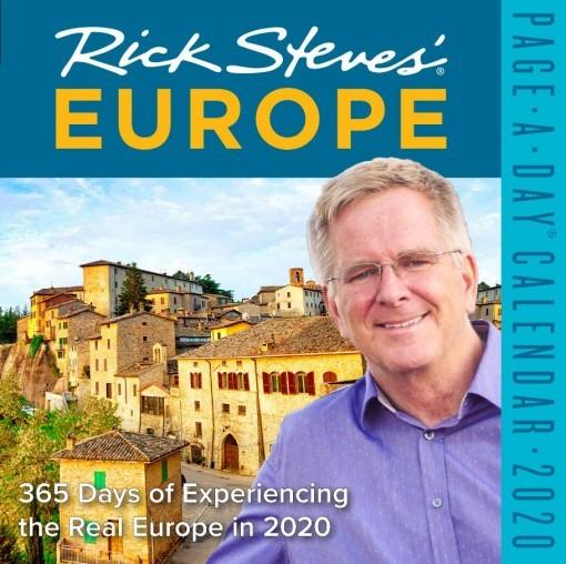 Rick Steves' Europe: Page-a-Day Calendar 2020