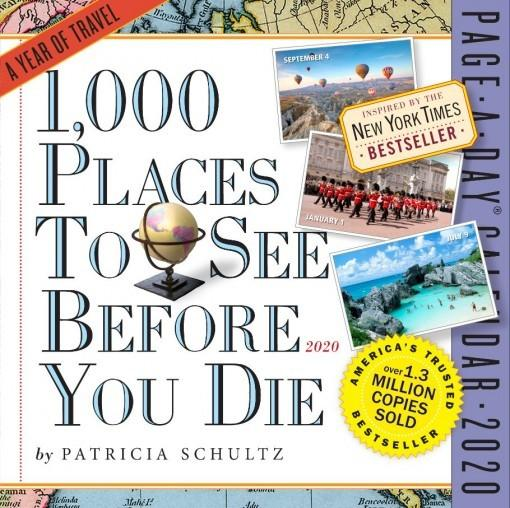 1000 Places to See Before You Die: Page-a-Day Calendar 2020
