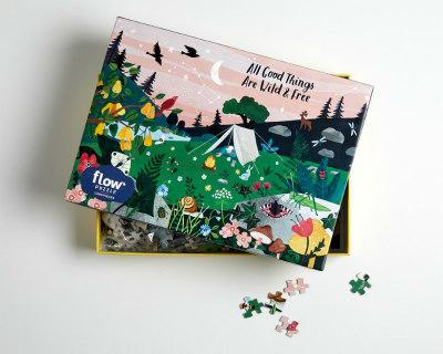 All Good Things Are Wild And Free Puzzle(1000pieces)