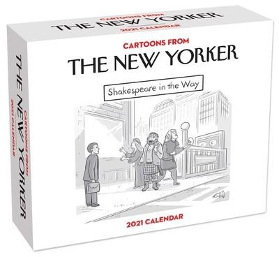 Cartoons From The New Yorker 2021 Box Calendar