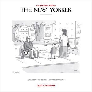 Cartoons from The New Yorker 2021WallCalendar