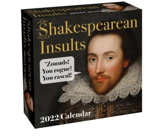 Shakespearean Insults 2022 Day to Day Desk Calendar