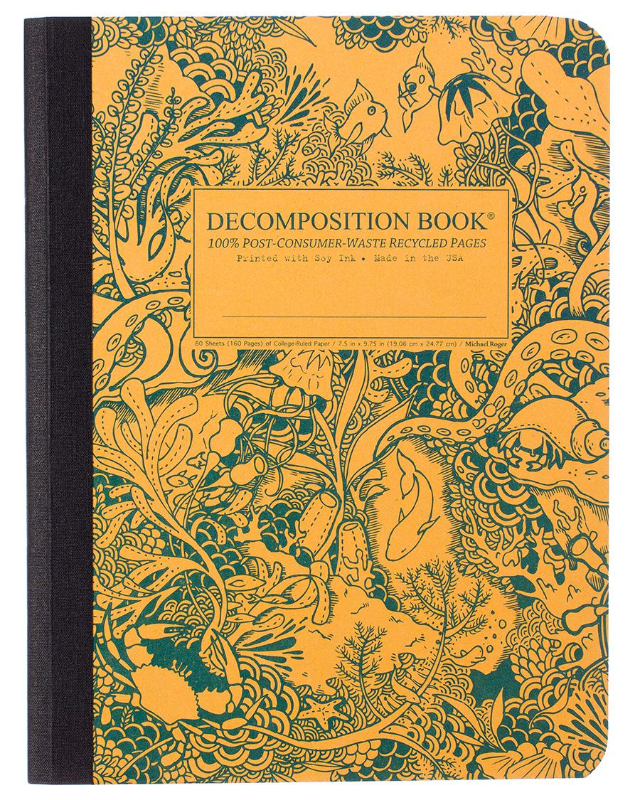 Decomposition Notebook Large Ruled UnderTheSea