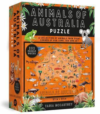Animals OfAustraliaPuzzle