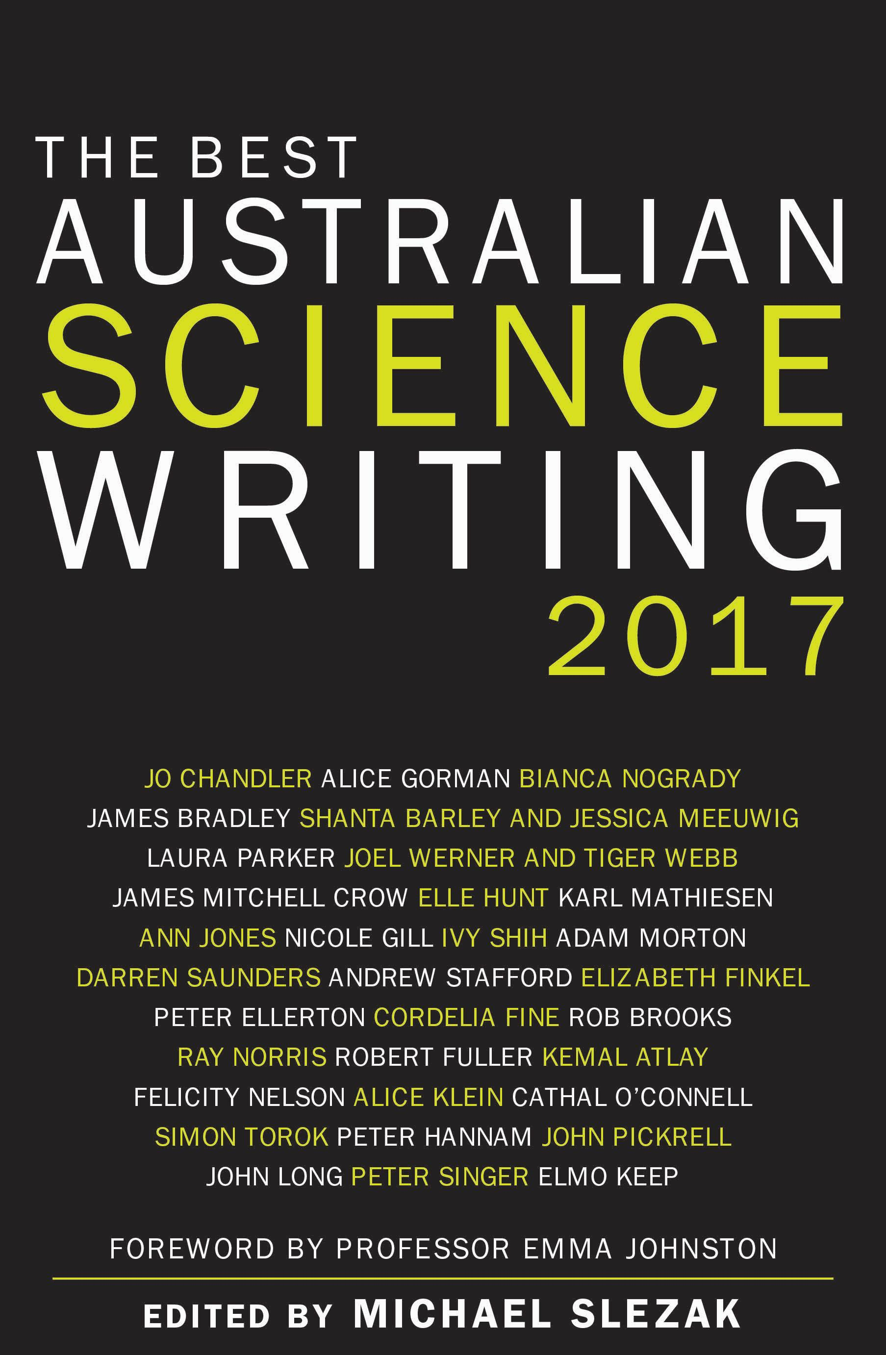 The Best Australian Science Writing 2017