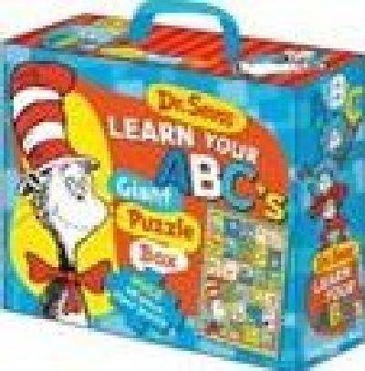 8b78ba36 Dr Seuss Cat In Hat Learn Your Abc's Floor Puzzle by The Five Mile ...