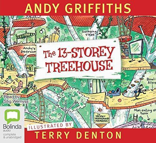 The 13-Storey Treehouse (Audiobook)