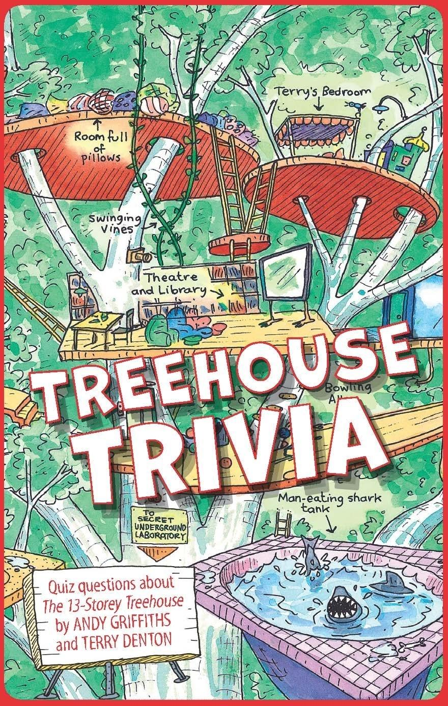 The 13th Storey Treehouse Part - 21: The 13-Storey Treehouse Trivia Cards