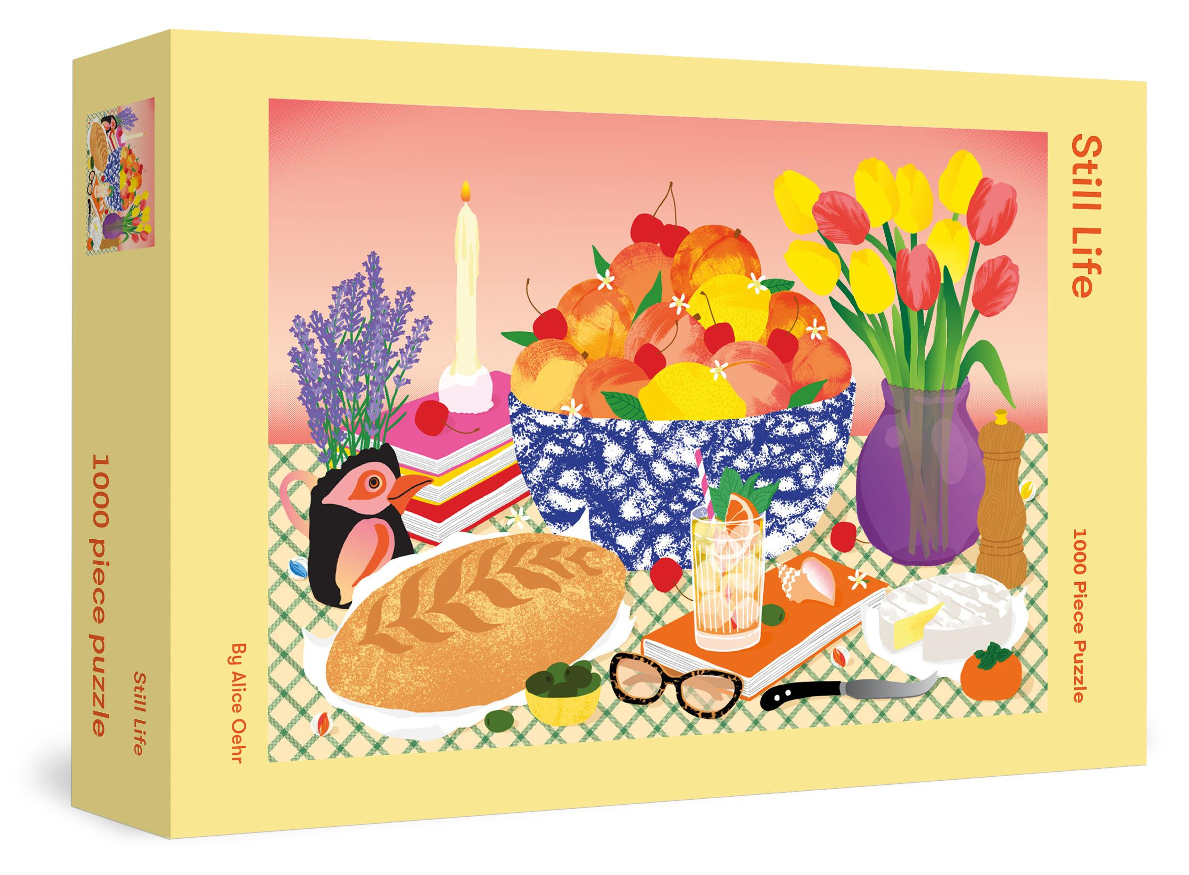 Still Life Jigsaw Puzzle(1000pieces)