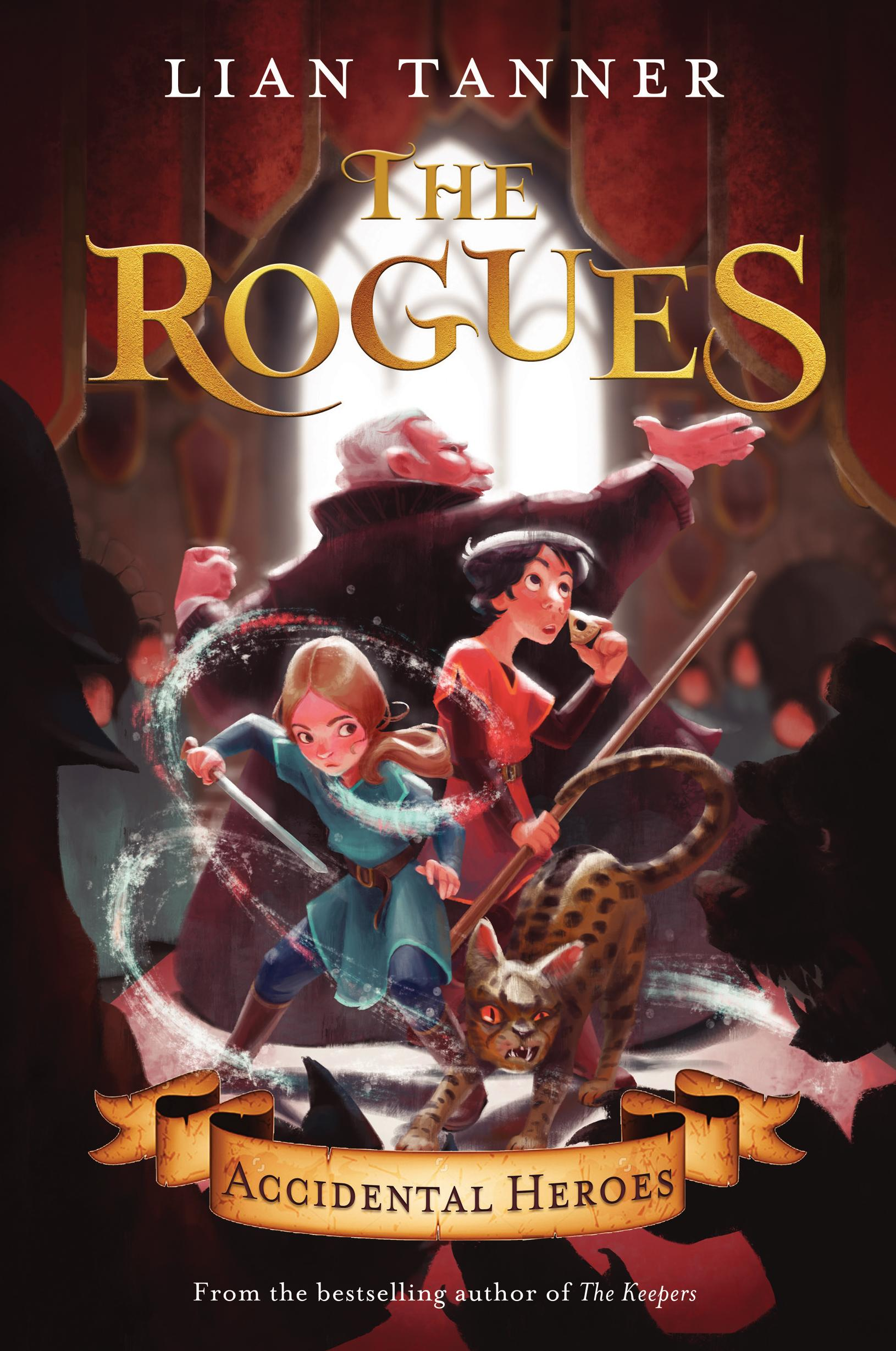 Accidental Heroes (The Rogues,Book1)