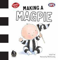 Making a Magpie (Footy Baby, Collingwood Magpies)