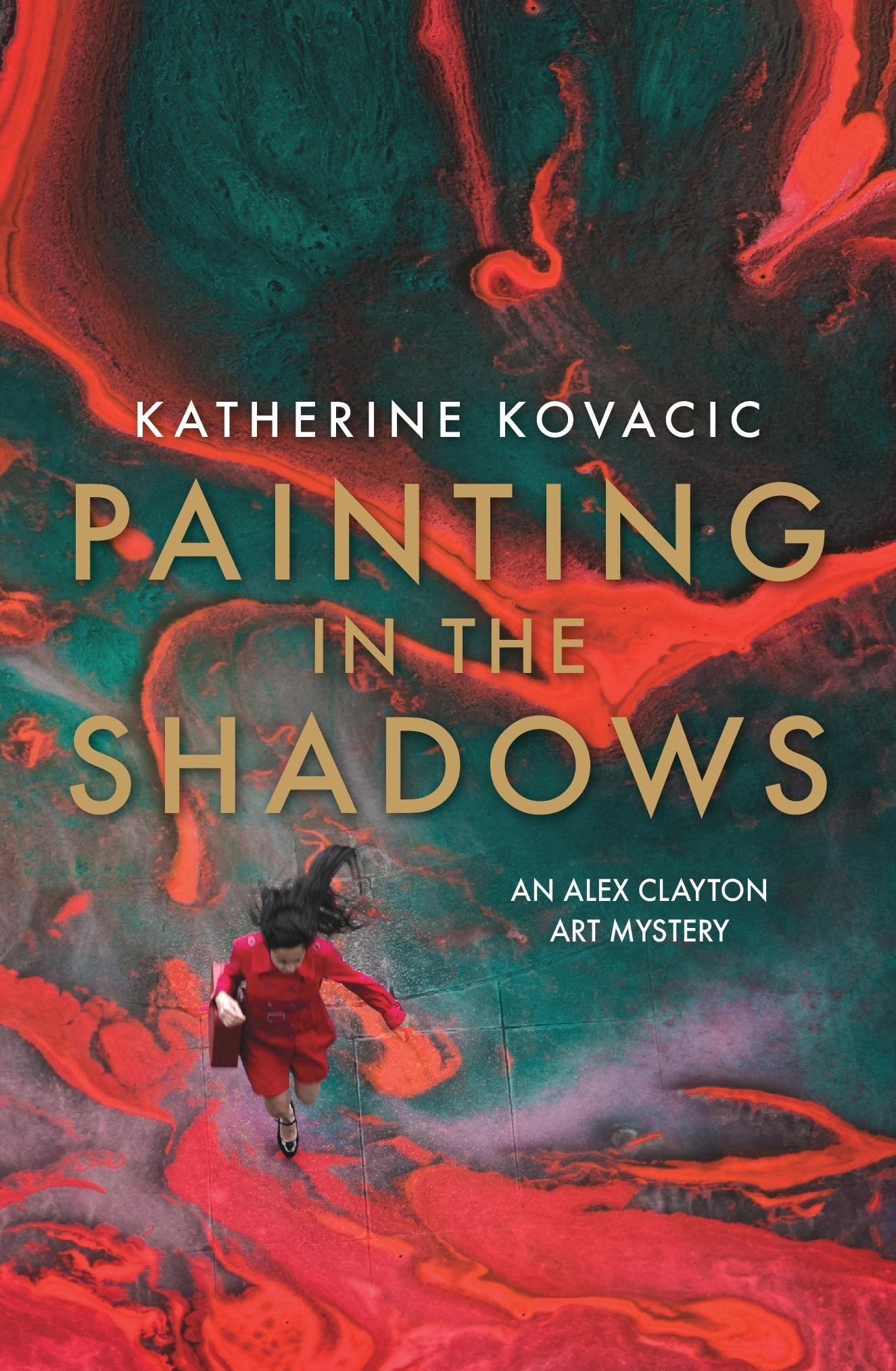 Painting in the Shadows (An Alex Clayton Art Mystery)