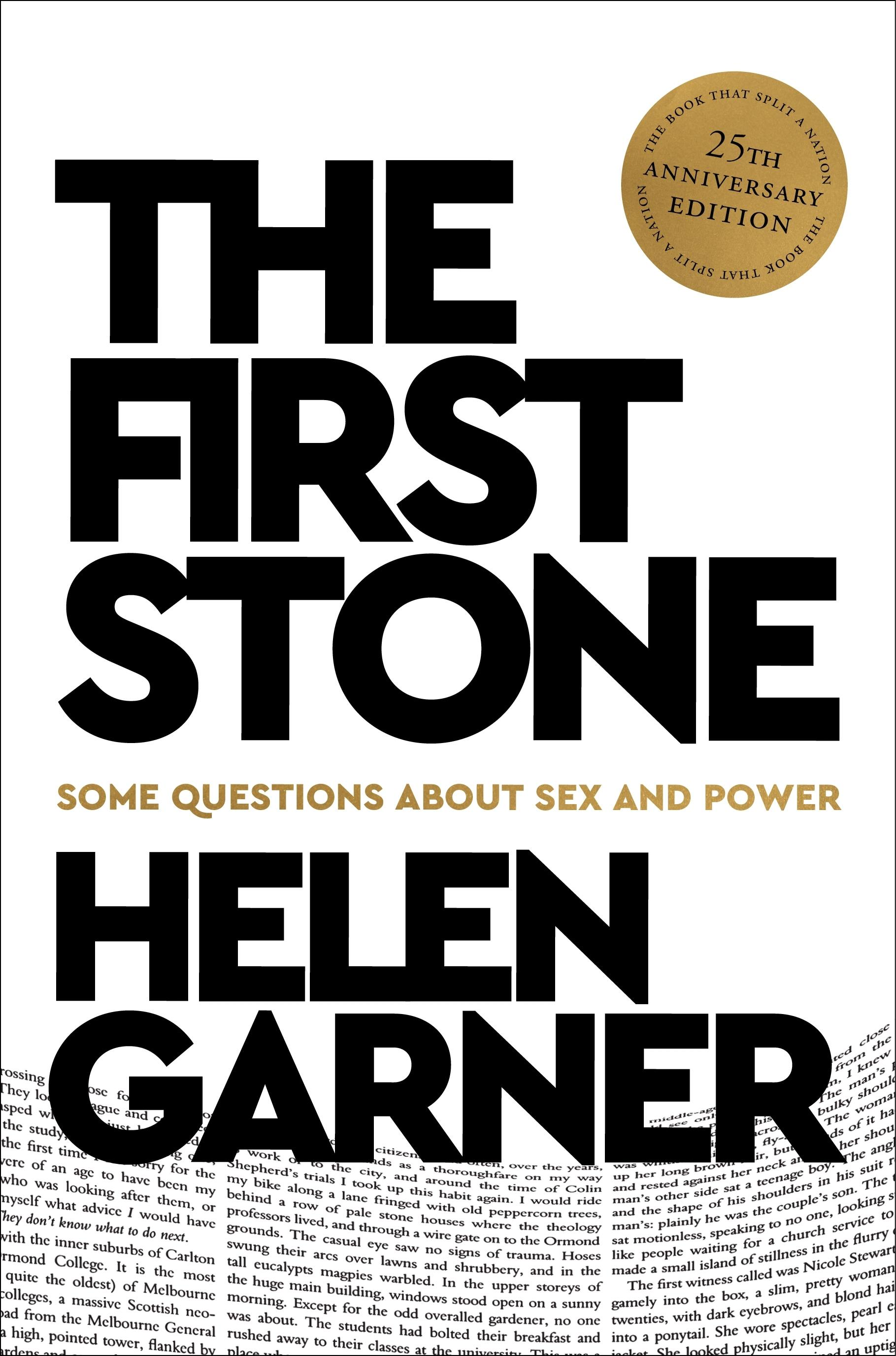 The First Stone (25th Anniversary Edition)