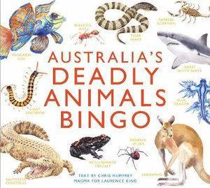 Australia's Deadly Animals Bingo