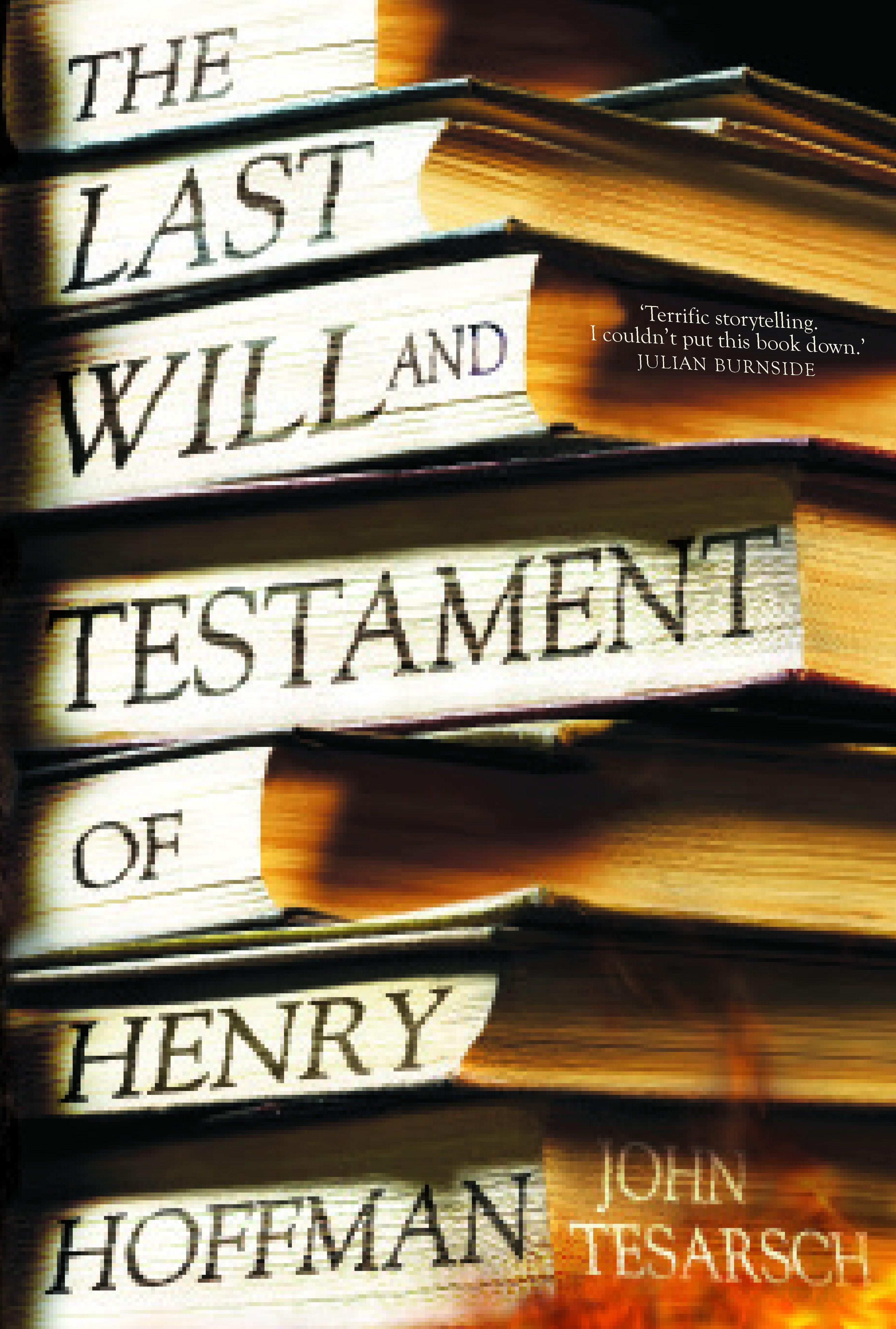 The Last Will and Testament ofHenryHoffman