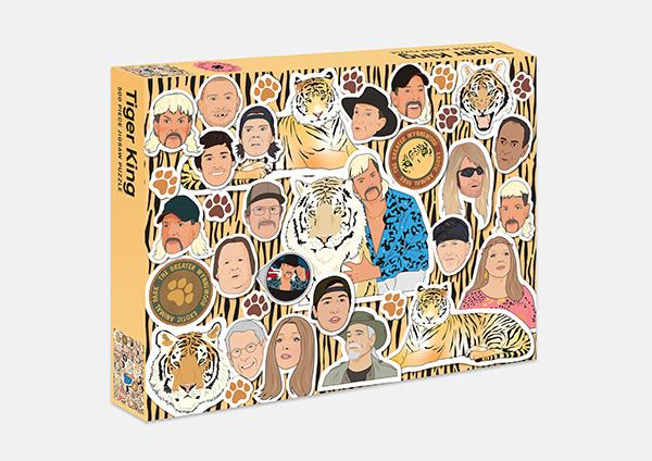 Tiger King Jigsaw Puzzle (500 Piece)